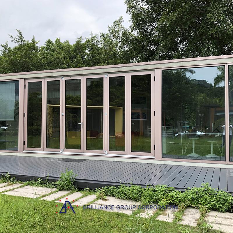 China Top supplier customized aluminium house