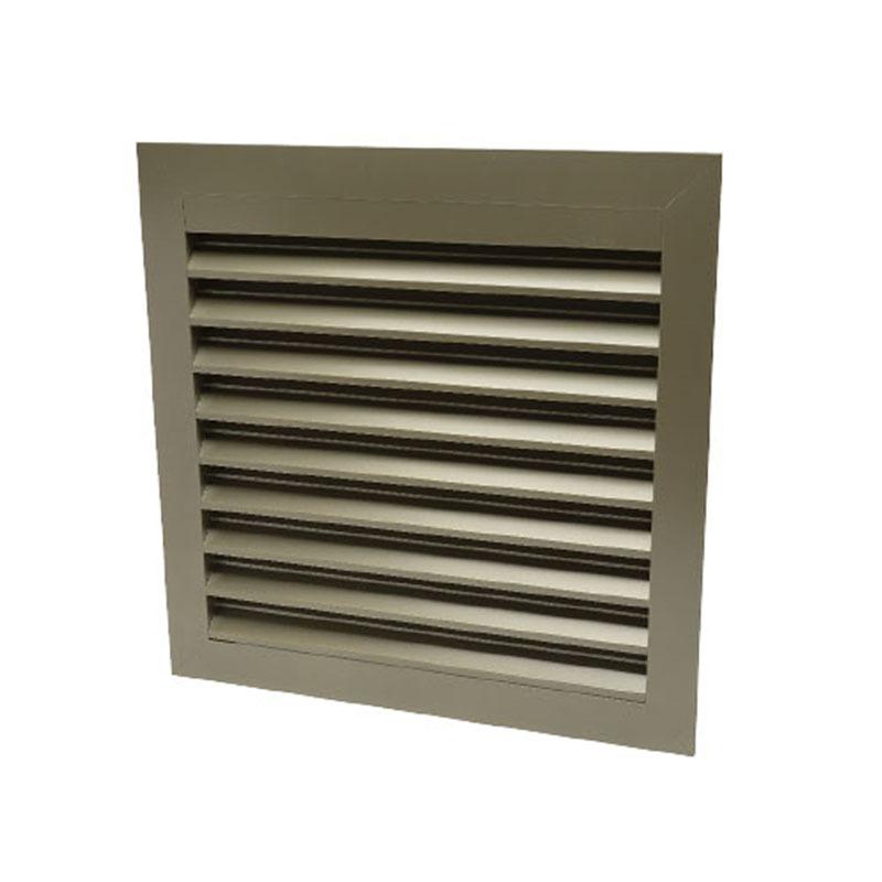 Excellent performance hvac system Aluminum Louvers air vent ventilation gravity air louvre