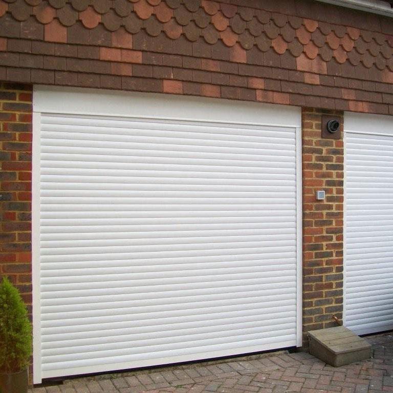High quality automatic modern perforatedaluminium roller door