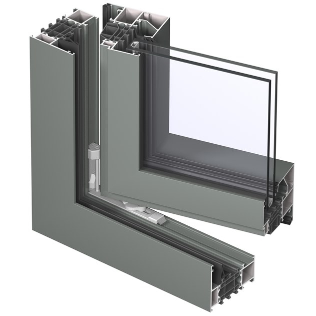 Hot SaleAluminium Door Frame Aluminum Extrusion Profile for Building Product