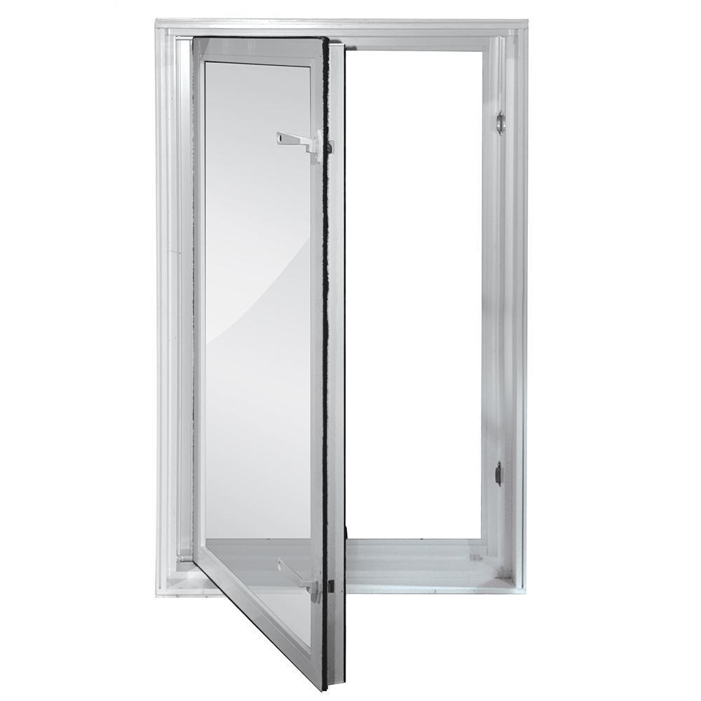 Fashionable Bathroom In-Swing Window WithLow-maintenance