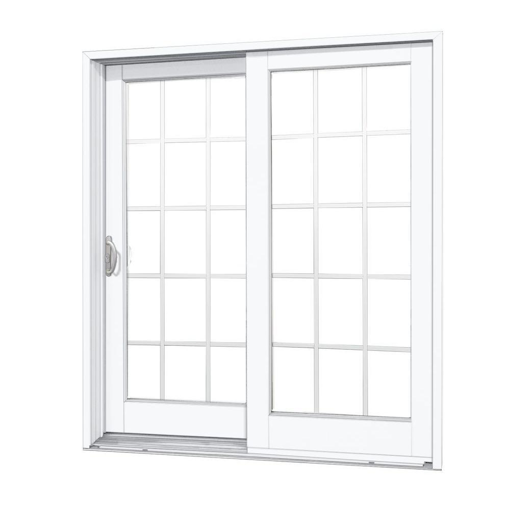 Either a Right-hand or Left-hand Operation Aluminum Sliding Patio DoorsAluminium Extrusion Profile Frame