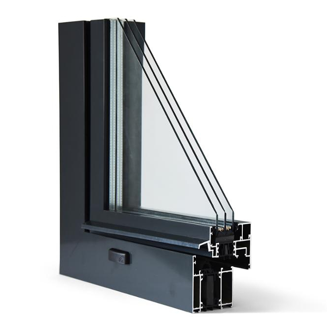 Aluminum folding door sliding windows for sale in China