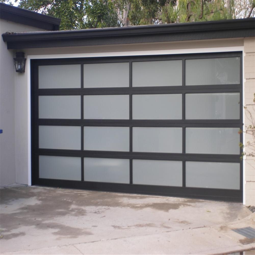 2020Aluminum glass sectional garage door