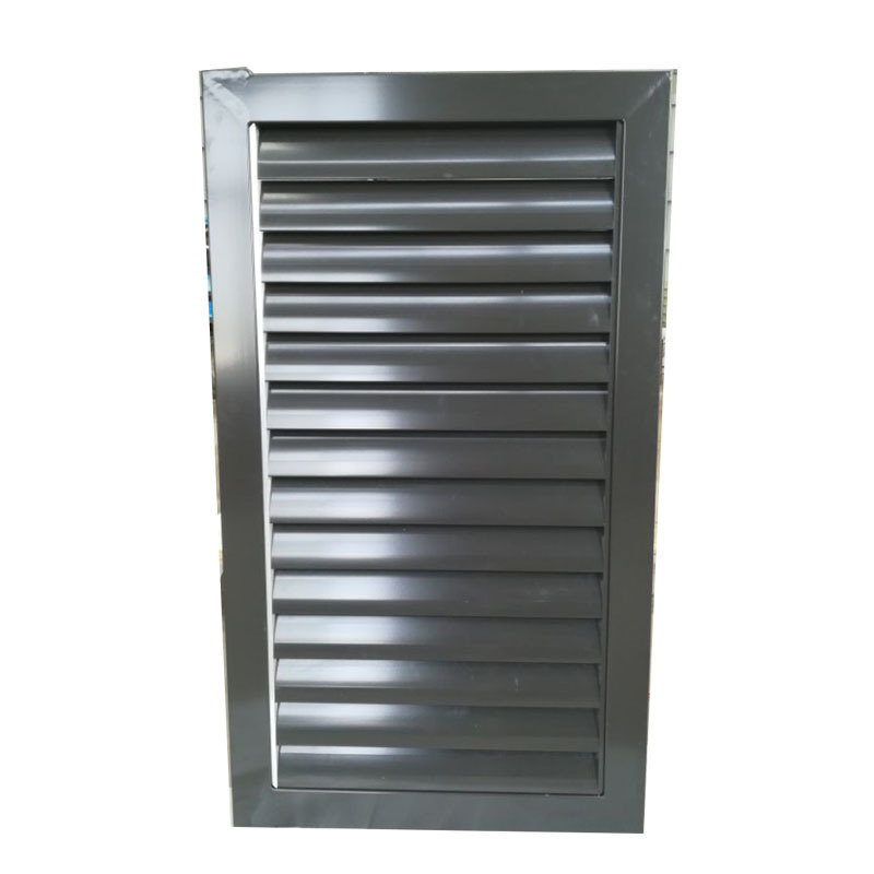 Customized supply aluminum Weatherproof Exhaust Air Vent Louvers