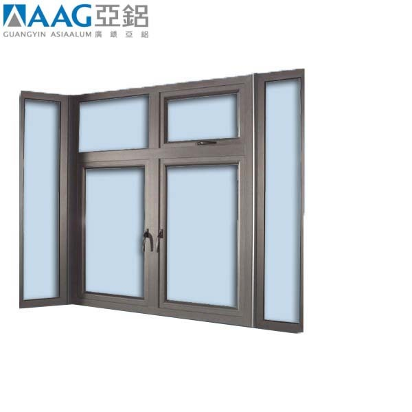 AAG supplier pvc frame casement window swing open tilt&turn windows and doors for sale