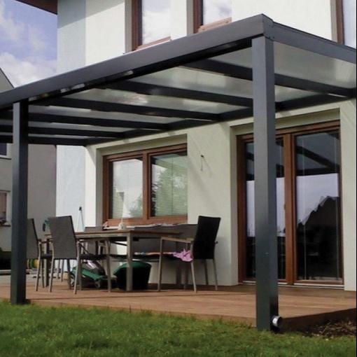 Moderngarden pergola aluminium grape trellis outdoor