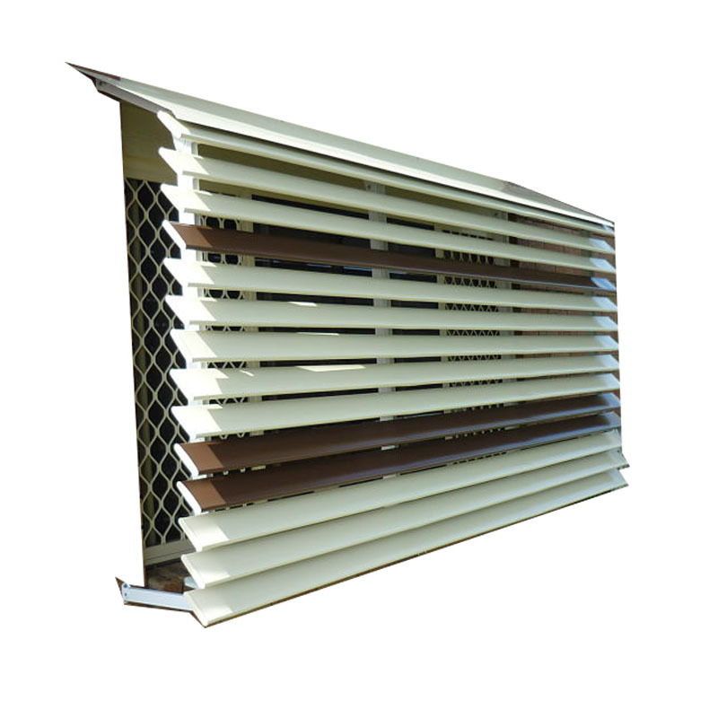 Good selling Sun Frame Exterior aluminum roof louvers bladepergola sunroom louver