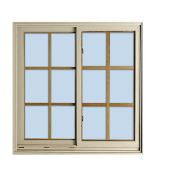 Most Popular Aluminium Living Room Reception Grill design Windows