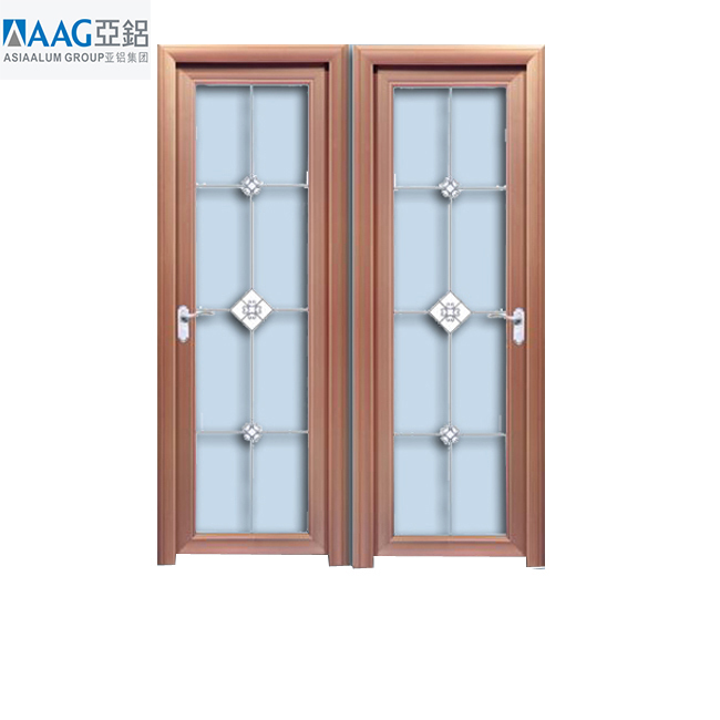 Latest design swing door opener aluminum double swing door sale