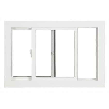 Top Security Aluminum Horizontal Slider Window Aluminium Extrusion Profile Frame