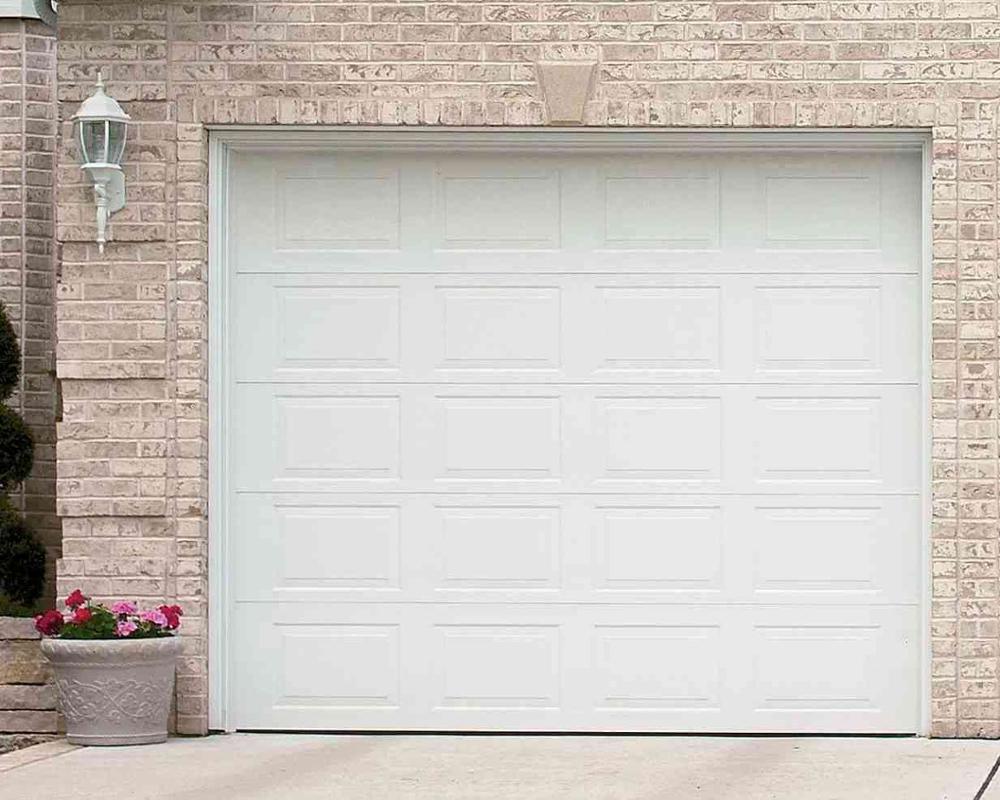Contemporary/Modern aluminium flush panel garage door overhead door