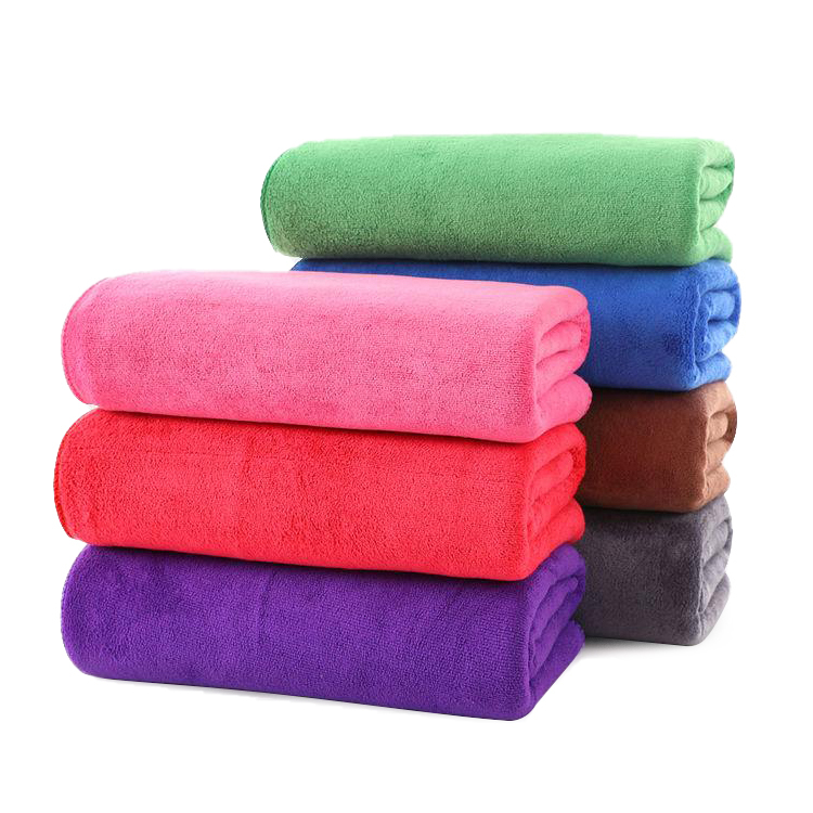 Custom Wholesale Fast Dry Lightweight Soft Drying Wrapped Microfiber Kitchen Absorbent coral fleece Micro Fiber Hair Towel