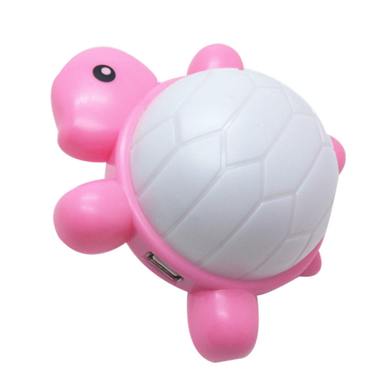 GL-W024 OEM best choice Cartoon turtle wall lamp with USB outlet plug-in night light