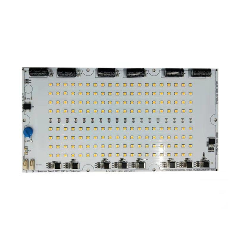 Driver on Board No-Flickering 70W LED board lights Samsung chip driverless 220V AC DOB Light Engine for LED Grow Light