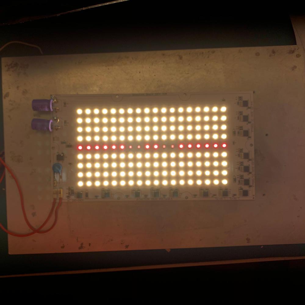 Dimmable 70W DOB Module 220V AC LED Board PCBA Samsung LM301B & 660nm &730nm DOB LED board for Vegetable light