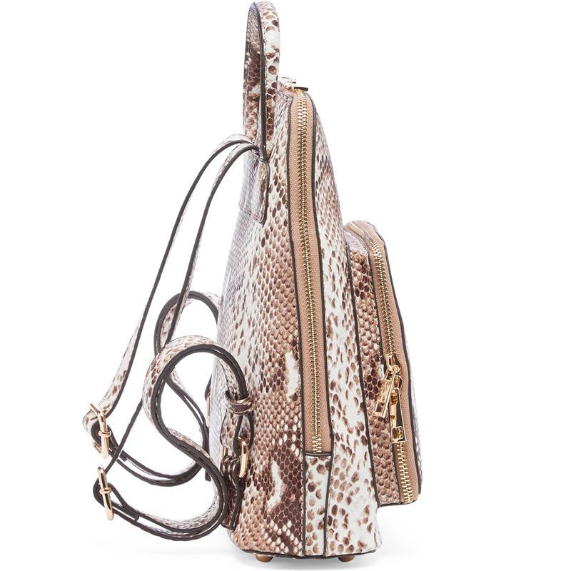 mochilas Women Backpack High Quality Snake Pattern Leather Backpacks for Teenage Girls Female School Shoulder Bag Bagpack mochila