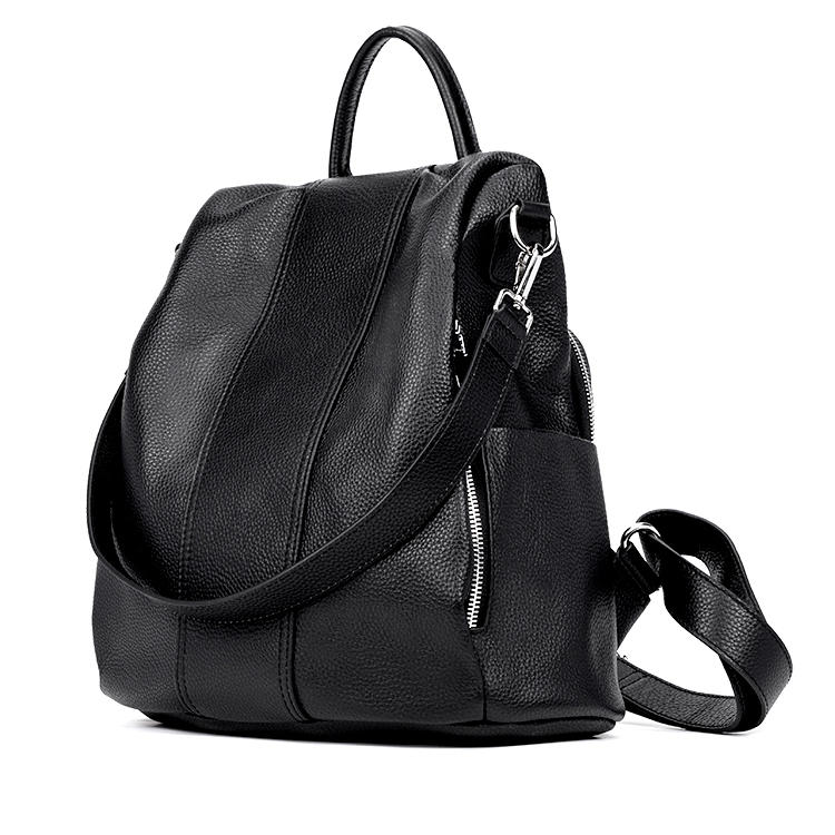 mochilas Hot Selling Design Custom Wholesale Women Teenagers Leather Backpack with Custom