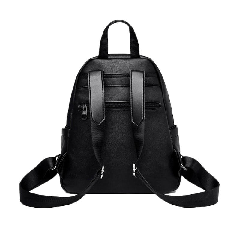 mochilas 2020 New Fashion Women Leather Backpack For Girls Sac a Dos Preppy School Female Backbag Large Capacity Travel Bagpack New Bag