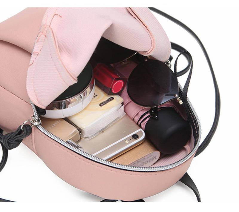 mochilas 2020 Newest Fashion Lady Small Backpack Women Leather Shoulder Bag Girls School Backpack