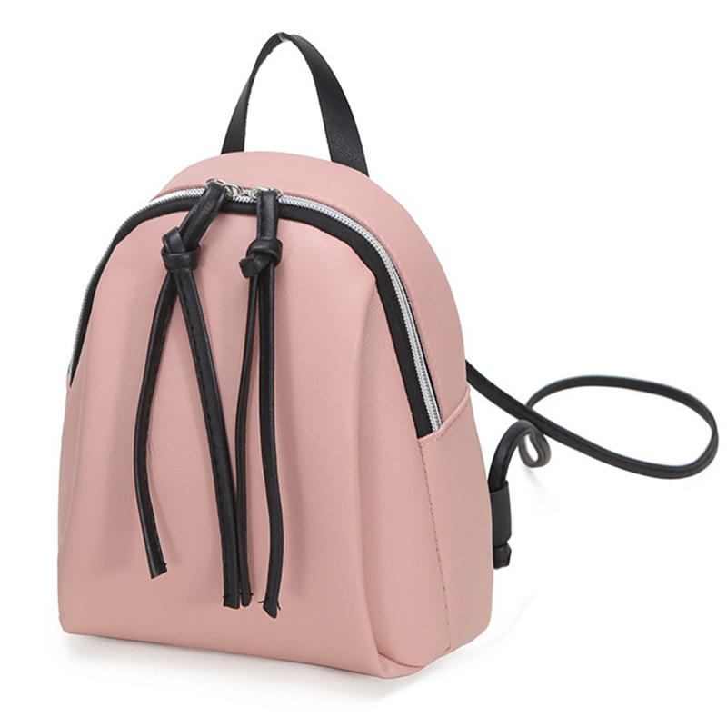 mochilas 2020 Newest Fashion Lady Small Backpack Women Leather Shoulder Bag Girls School Backpack