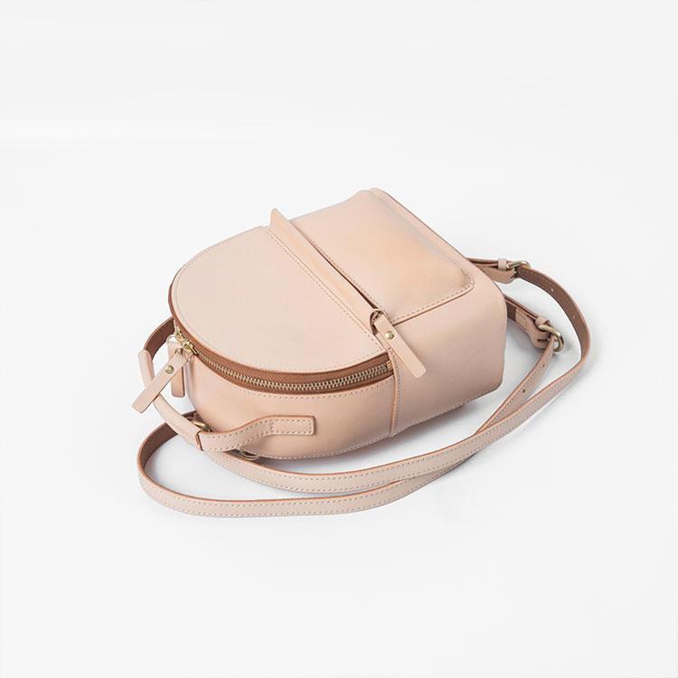 mochilas Manufacturer High Quality Girls PU Leather Backpacks fashion design brand leisure Custom Women School Mini Pink ladies Backpack