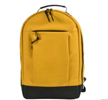 mochilas Best Selling Custom Waterproof PU Leather Large capacity Backpack Laptop bag for men