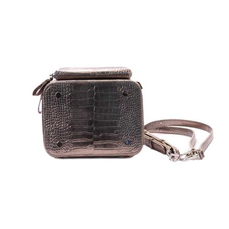 mochilas 2020 Newest Fashion PU Leather Girls Mini High Quality Python Backpack