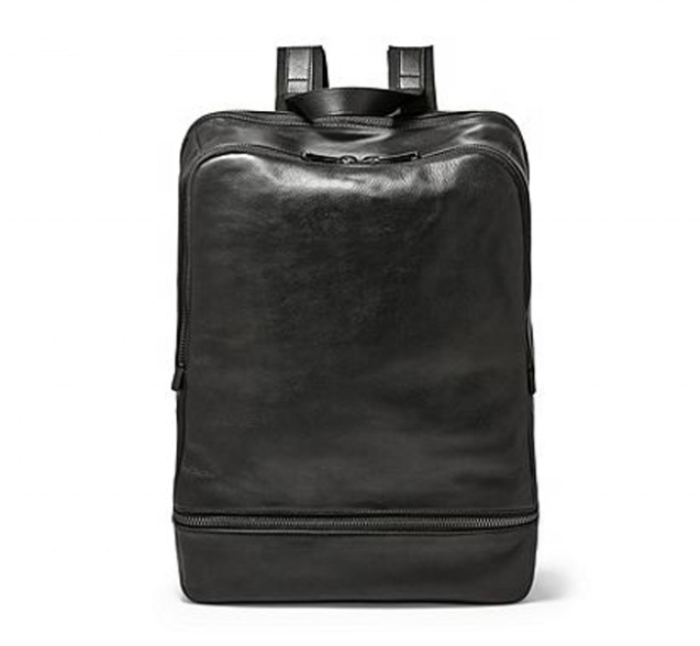 mochilas 2020 Durable Black PU leather multi-pocket laptop men backpacks Business Office Multi-pocket Waterproof Zipper backpack bags