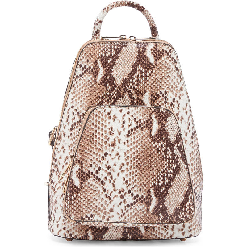 mochilas Women Backpack High Quality Snake Pattern Leather Backpacks for Teenage Girls Female School Shoulder Bag Bagpack mochila