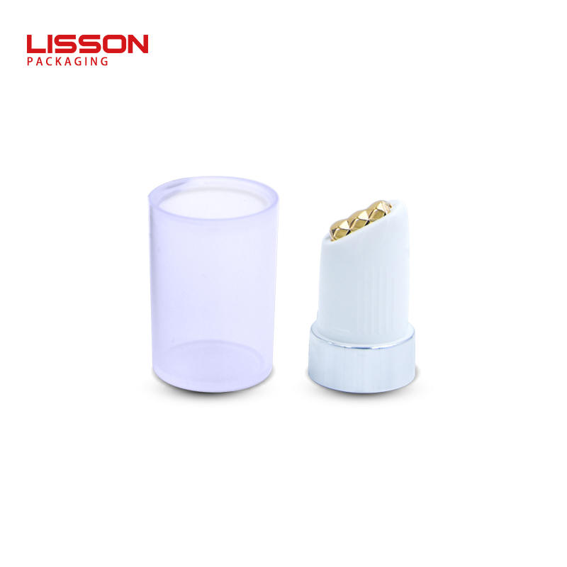 12ml empty custom cosmetic lipglosssqueeze packaging tube container with ball insert