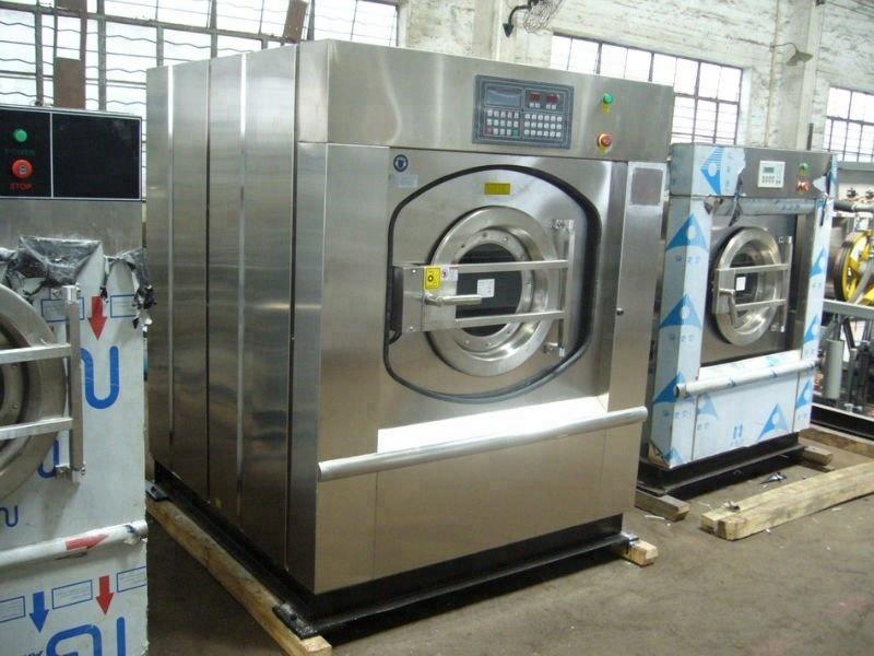 120kg steam heating hospital use laundry equipment