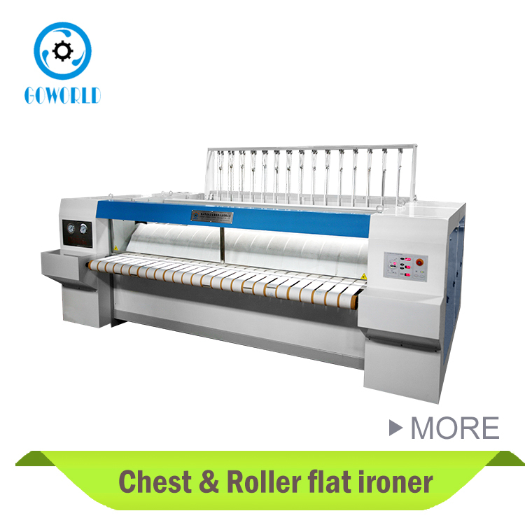 YZII-3000 Double Roller and Chest heated flatwork ironer for hospital