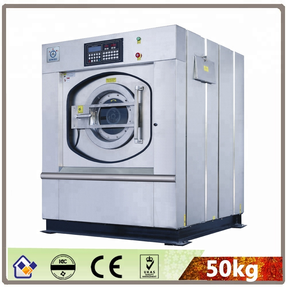 50KG electric heating hospital washing machine