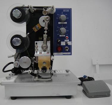Semi-automatic Ribbon Printing Machine