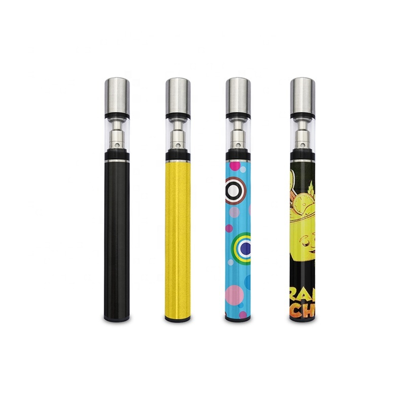 Custom Usb rechargeable vape pods battery and cartridge kit Quartz coil smoke best cbd vape pen
