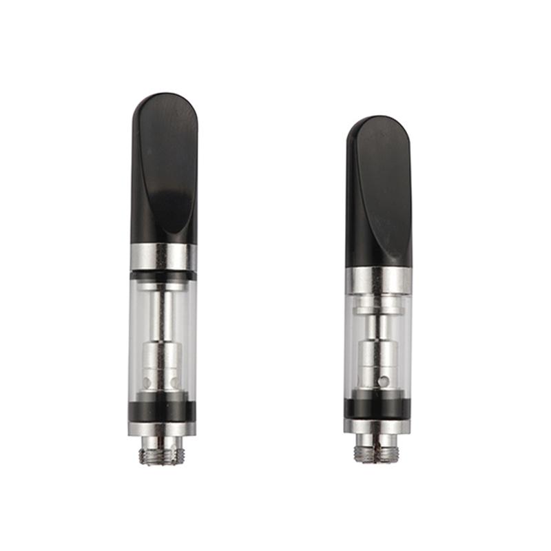 Wholesale quartz cbd vape pen empty cartridge gold glass disposable cbd vape pen electronic smoke atomizer