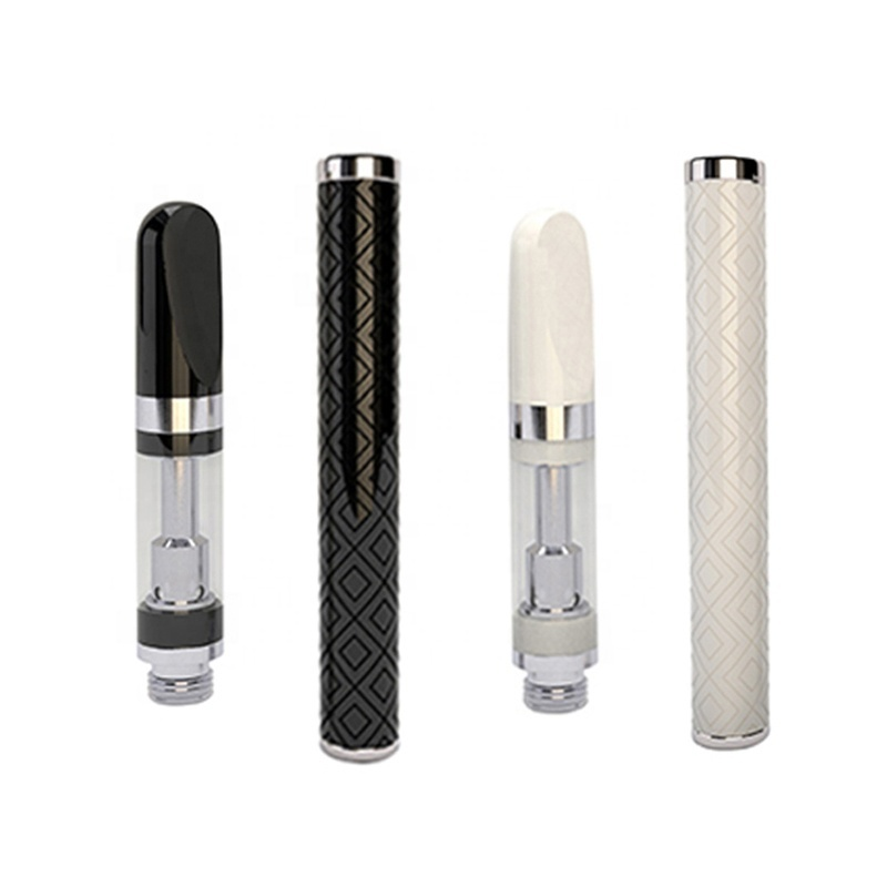 Custom refillable empty 510 thread quartz sand coil vape pen 1ml cartridge vape without oil