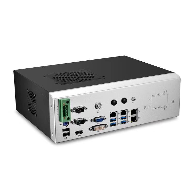Manufactory Wholesale machine vision industrial computer 2 ethernet ports x86 fanless mini pc nuc motherboard Of Low Price