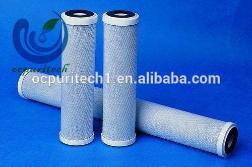 EXW price pp water filter GAC+CTO+T33 filter part