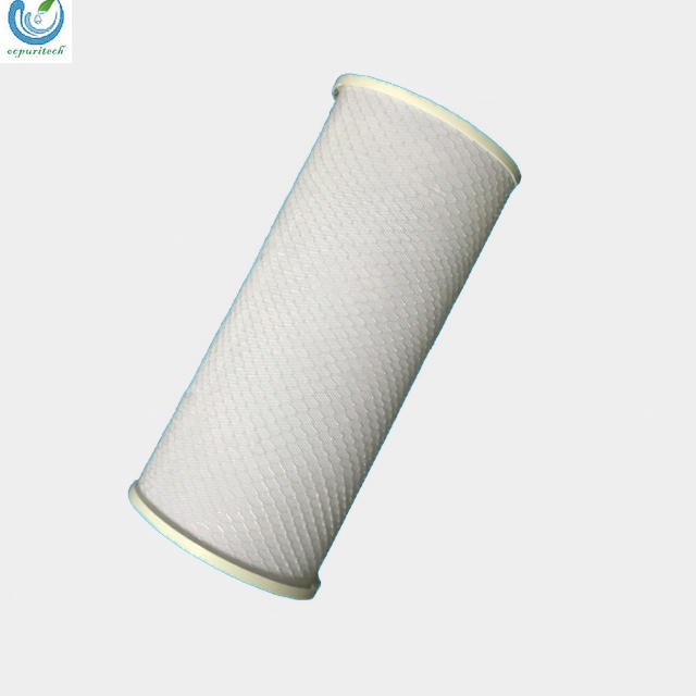 5 Micron industrial CTO activated carbon water filter for swimming pool