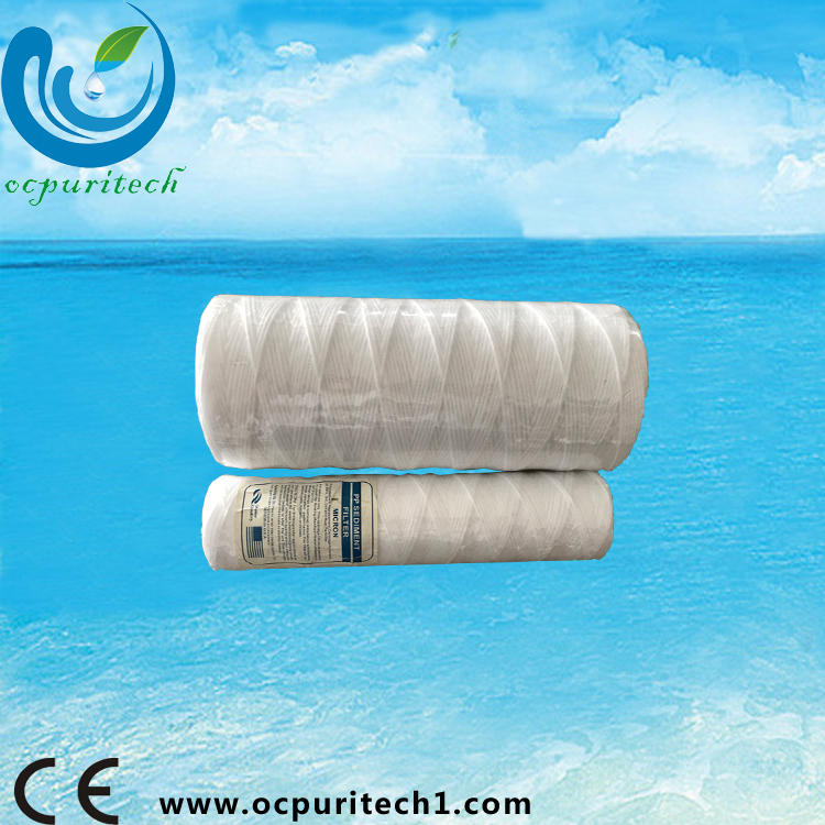 PP sediment quick fitting water filter cartridge with 5 micron
