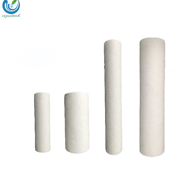 hot selling 20 inch pp melt blown filter cartridge specification for water process
