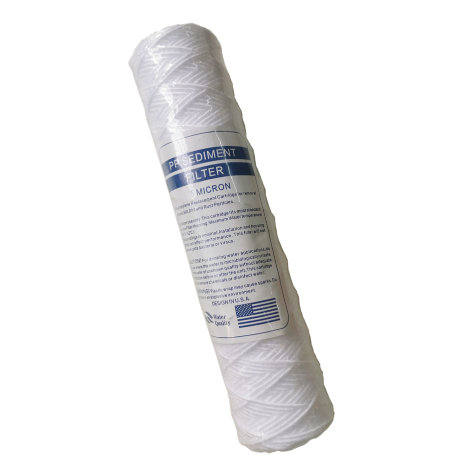 Good quality PP string wound 0.5 micron filter cartridge