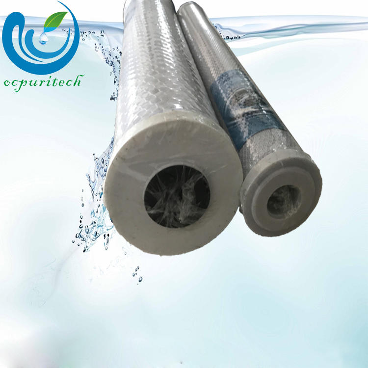 10 inch 20 inch 0.1 micron alkaline CTO activated carbon water filter cartridge