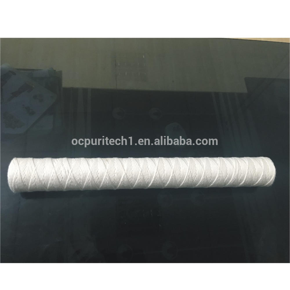 30'' string wound filter cartridge for water treatment