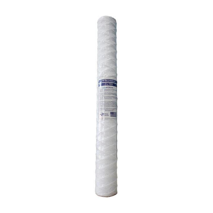 20 inch pp spun wire yarn element pp wire wound filter cartridge