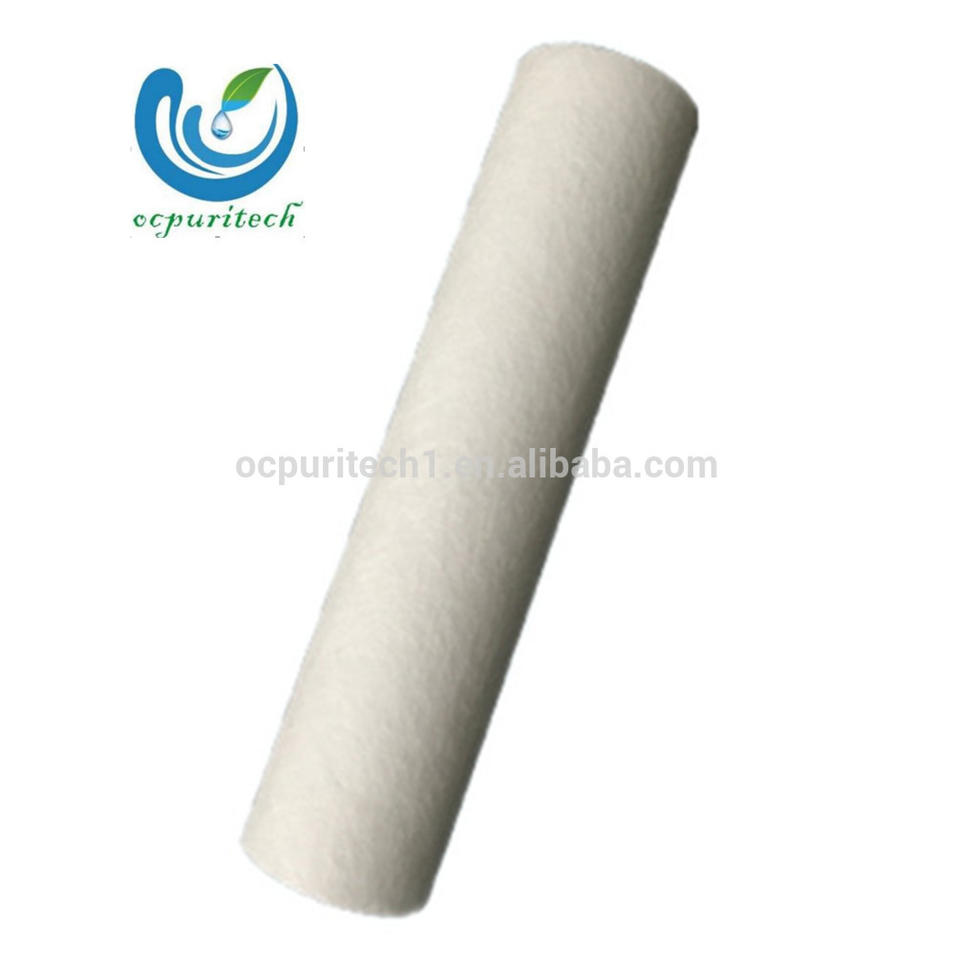 5 rounds pp melt blown filter cartridge machine for water ro system