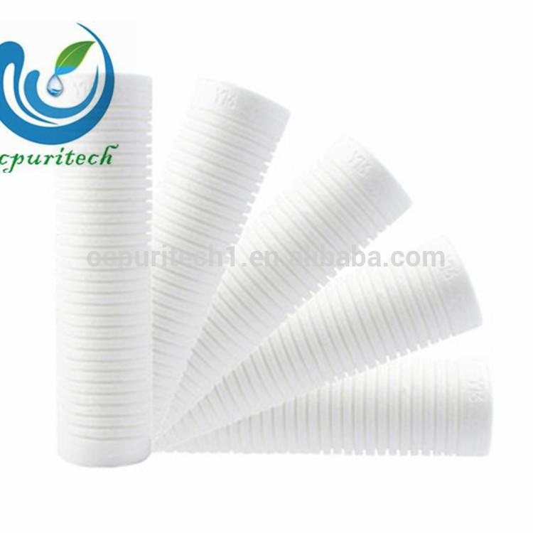 Spun/melt Blown Pp Water Filter Cartridge