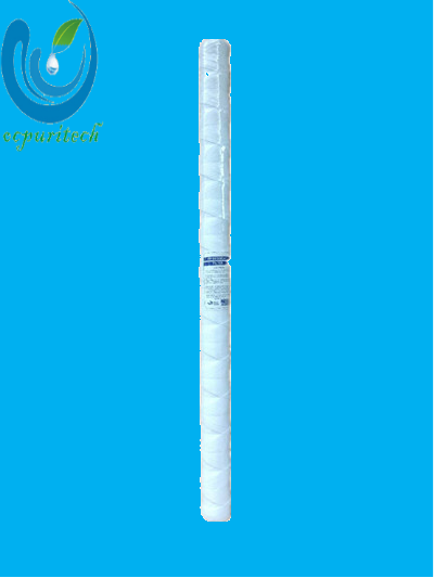 high flow 40 inch pp string wound filter cartridge